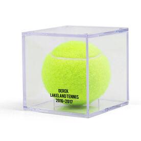 Tennis Square Ball Display