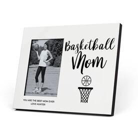 Basketball Photo Frame - Basketball Mom Script