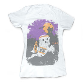 Vintage Running Fitted T-Shirt - Faster Than Boo