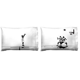 Basketball Pillowcase Set - Shoot The Three