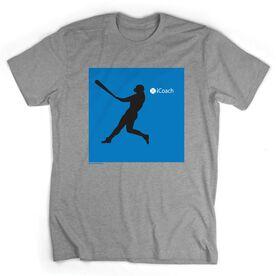 Baseball Tshirt Short Sleeve iCoach Baseball
