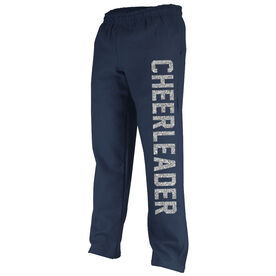 Cheerleading Fleece Sweatpants Varsity Cheerleader