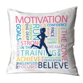 Running Decorative Pillow - Inspiration Runner