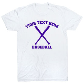 Custom Baseball T-Shirt Short Sleeve