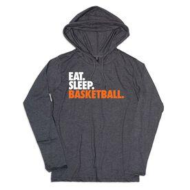 Men's Basketball Lightweight Hoodie - Eat Sleep Basketball