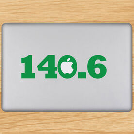 140.6 Removable TRIForeverGraphix Laptop Decal