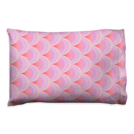 Swimming Pillowcase - Colorful Scales Print