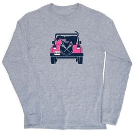Girls Lacrosse Tshirt Long Sleeve - Lax Cruiser