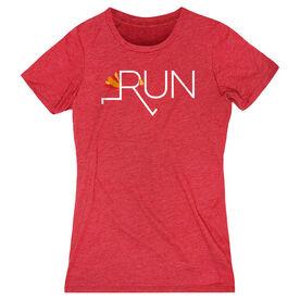 Women's Everyday Runners Tee - Let's Run For Turkey