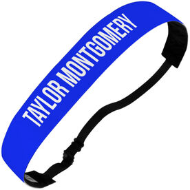 Personalized Athletic Julibands No-Slip Headbands - Your Text Here