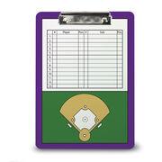 Baseball Custom Clipboard Baseball Roster And Field