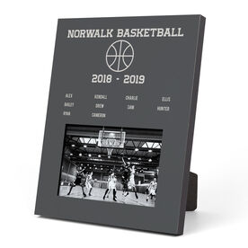 Basketball Photo Frame - Team Roster