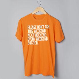 Soccer Short Sleeve T-Shirt - All Weekend Soccer