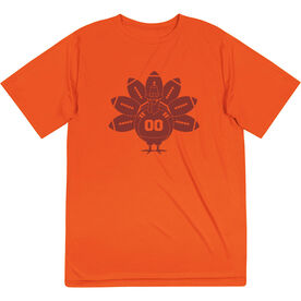 Football Short Sleeve Performance Tee - Turkey Player