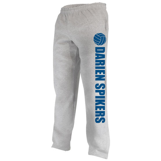 Volleyball Fleece Sweatpants Volleyball Team Name