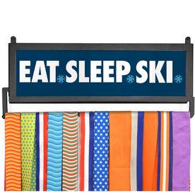 AthletesWALL Medal Display - Eat Sleep Ski