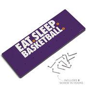 Basketball Hooked on Medals Hanger - Eat Sleep Basketball