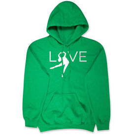 Figure Skating Hooded Sweatshirt - Love