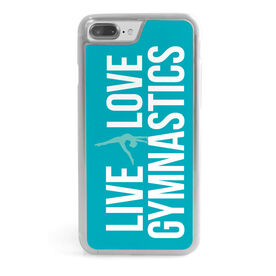 Gymnastics iPhone® Case - Live Love Gymnastics