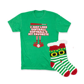 Softball Gift Set - Elf