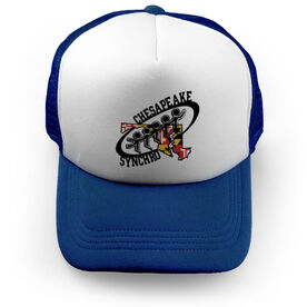 Trucker Hat - Chesapeake Synchronized Skating Logo (Royal)