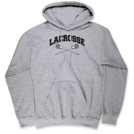 Guys Lacrosse Standard Sweatshirt - Crossed Sticks