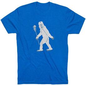 Guys Lacrosse Short Sleeve T-Shirt - Yeti