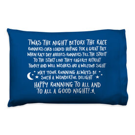 Running Pillow Case - Twas The Night Before The Race (Simple)