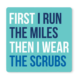 """Running 12"""" X 12"""" Removable Wall Tile - Then I Wear The Scrubs"""
