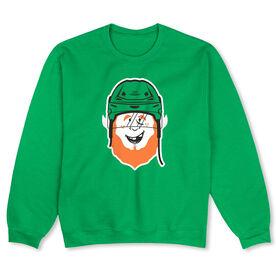 Hockey Crew Neck Sweatshirt - Lucky McPuck