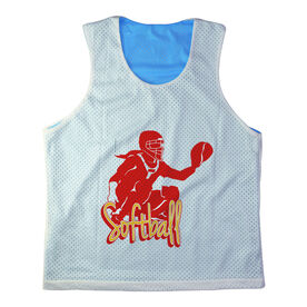 Girls Softball Racerback Pinnie Personalized Softball Catcher