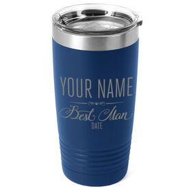 Personalized 20 oz. Double Insulated Tumbler - Best Man