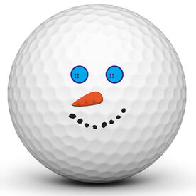 Snowman Golf Ball