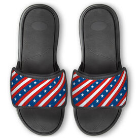 Personalized Repwell® Slide Sandals - Patriotic
