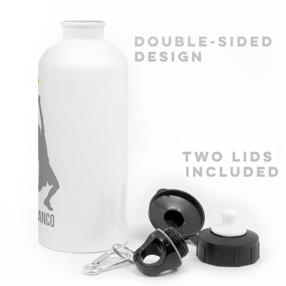 Tennis 20 oz. Stainless Steel Water Bottle - Tennis Male Player