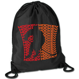 All Hockey Sport Pack Cinch Sack