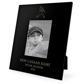 Baseball Engraved Picture Frame - Player