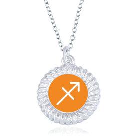 Braided Circle Necklace - I'm A Sagittarius