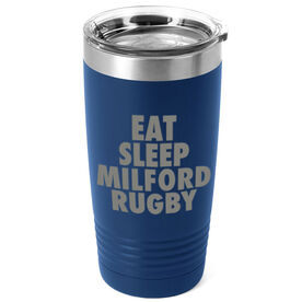 Rugby 20 oz. Double Insulated Tumbler - Personalized Eat Sleep Rugby
