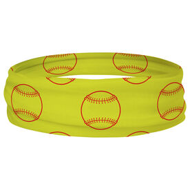 Softball Multifunctional Headwear - Ball Pattern RokBAND