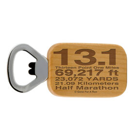 13.1 Math Miles Maple Bottle Opener