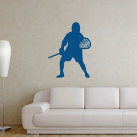 Lacrosse Removable ChalkTalkGraphix Wall Decal - Goalie