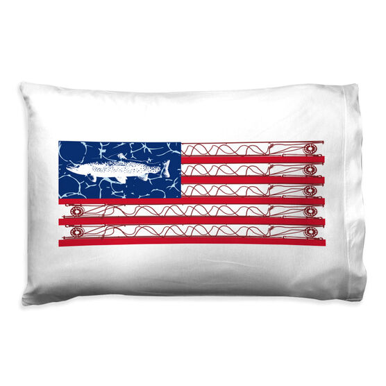 Fly Fishing Pillowcase - American Cast