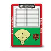 ChalkTalk Softball Custom Coaches Dry Erase Clipboard