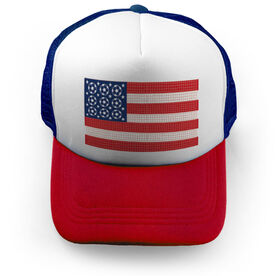 Soccer Trucker Hat - Patriotic