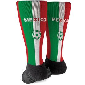 Soccer Printed Mid-Calf Socks - Mexico