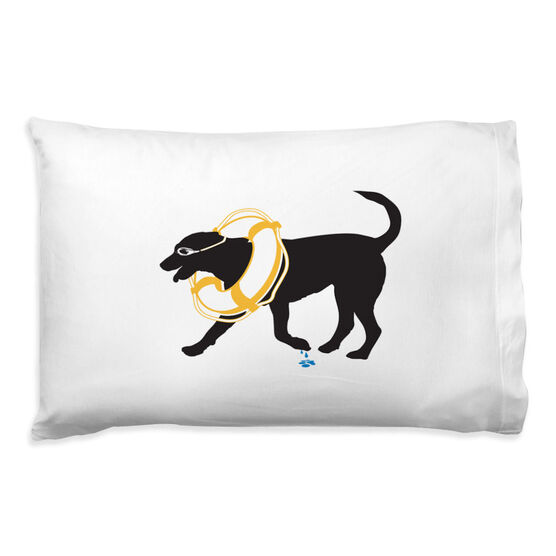 Swimming Pillowcase - Finn The Swim Dog