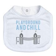Baby Bib - Playground and Chill