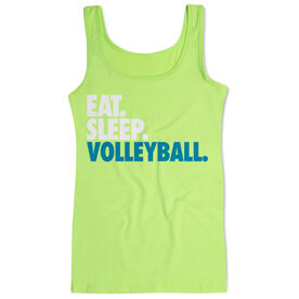 Volleyball Women's Athletic Tank Top Eat. Sleep. Volleyball.