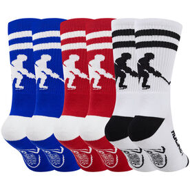 Hockey Woven Mid-Calf Sock Set - Player